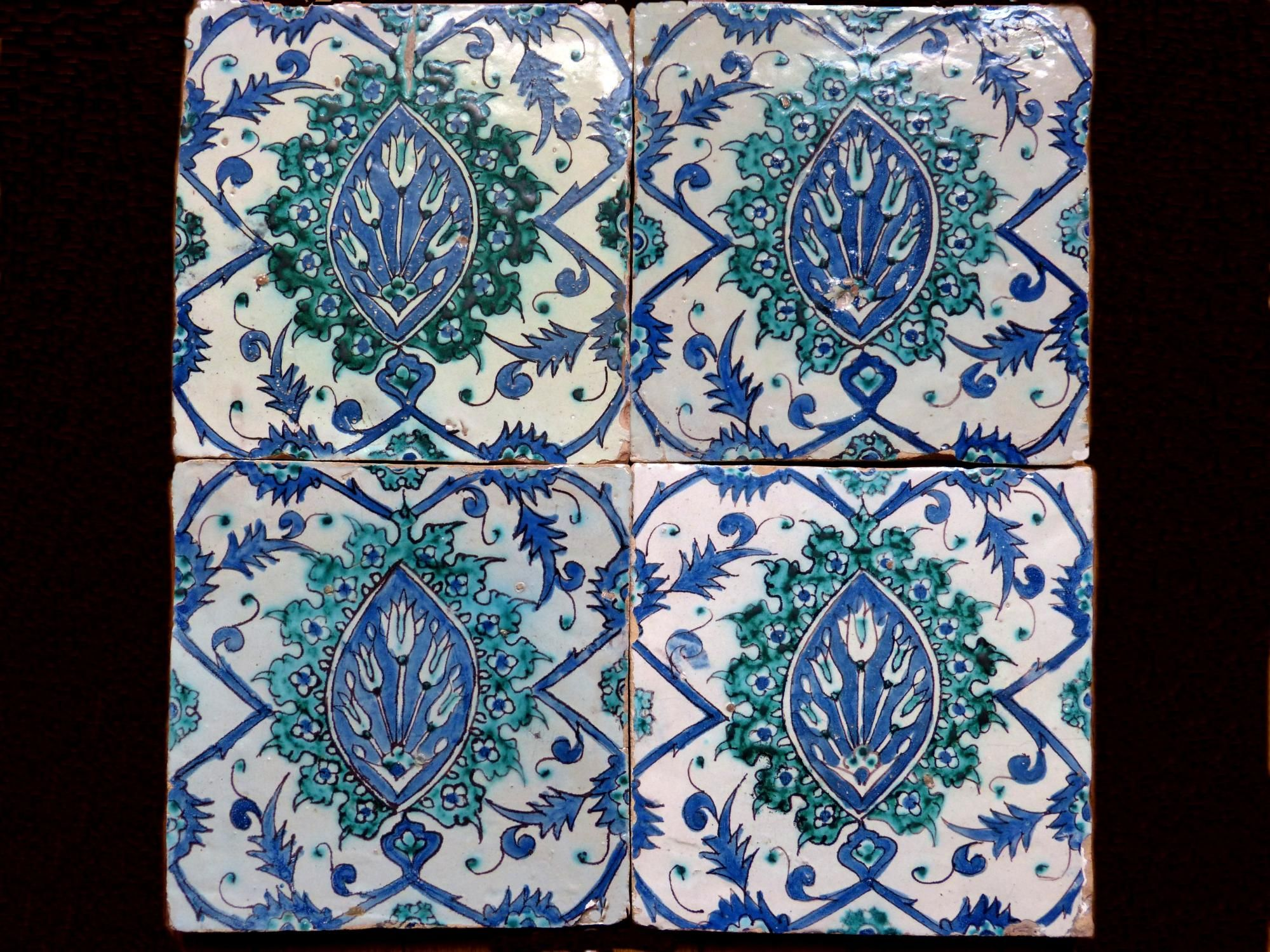 Antique for sale Islamic faience safavid persian tiles of ceramic ...