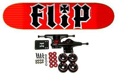 Flip Skateboards Hkd Red Complete Skateboard By Flip 64 99 Flip Complete Skateboard Features Flip Hkd Deck Size 8 Flip Skateboards Toys Games Skateboard