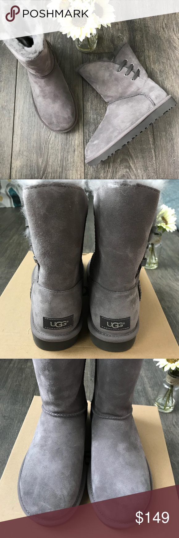 5456eec9003 UGG Constantine boots in charcoal NWT UGG Constantine boots in ...