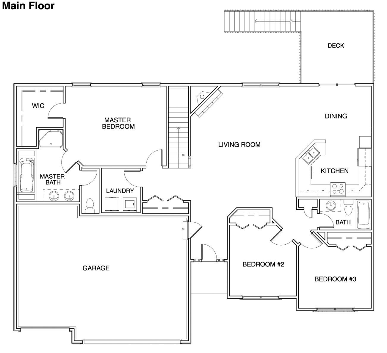 Floor Plans For Ranch Homes For 130000 Hubbell Homes Building New Homes In Des Moines Iowa New Hom Building A House Building Plans House House Flooring