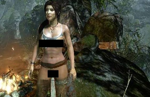 from Cyrus tomb raider underworld nude patches