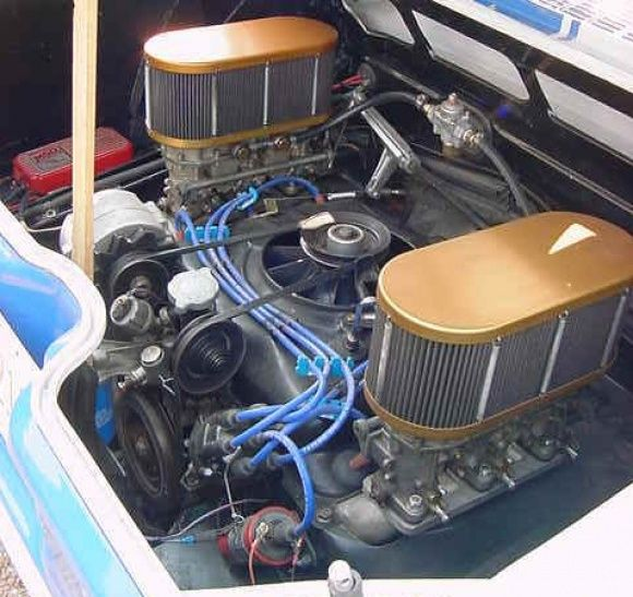 1966 Corvair Yenko Stinger Clone Scca Solo Race Car For Engine