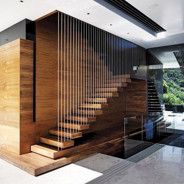 ahşap dekoratif merdiven #staircaserailings