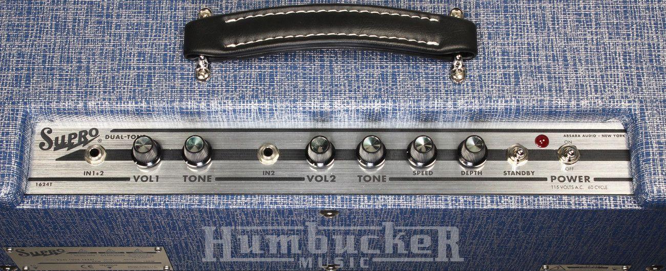 Supro Dual-Tone 1624T Amp