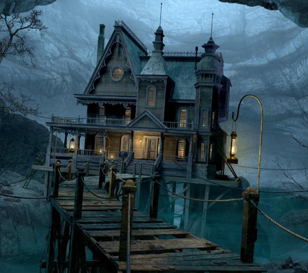 EXT. CREEPY HOUSE PATH MED #EpisodeInteractive #Episode
