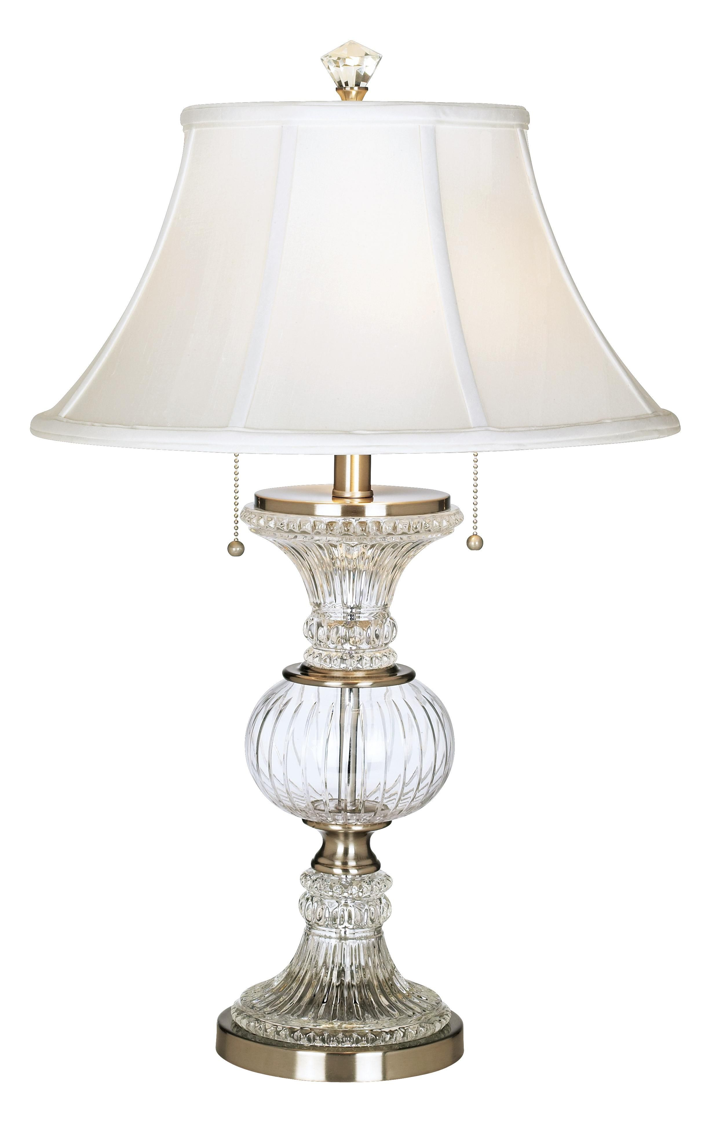 Dale Tiffany Crystal Globe Table Lamp In My Dresser Crystal