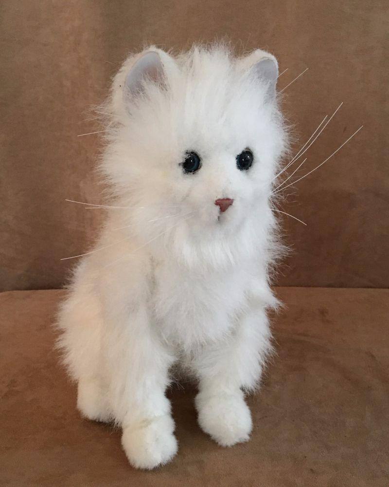 Furreal Friends Lulu Sitting Interactive Kitty Cat Toy Pet Persian