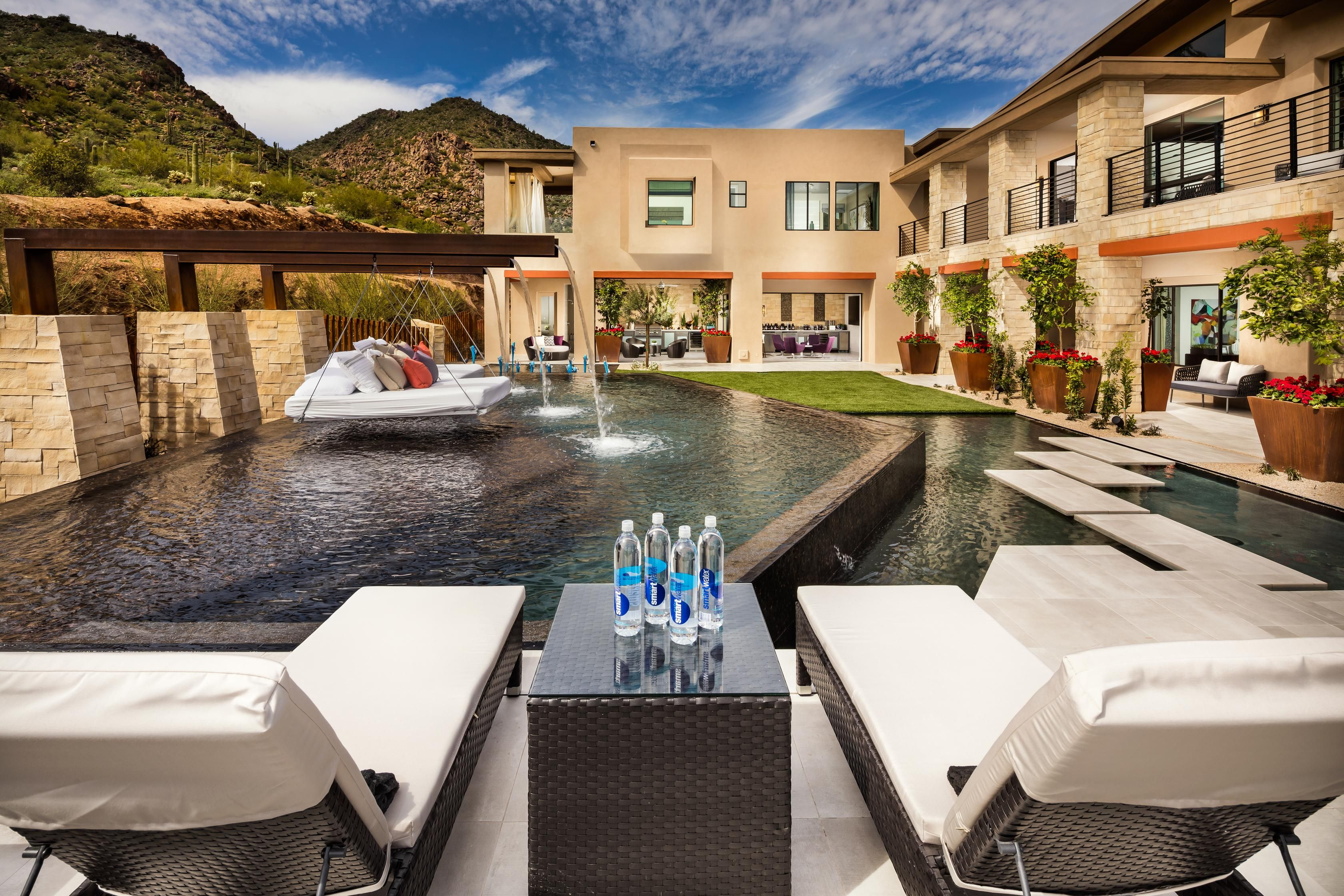 A Stunning Pool And Patio Venue From The Adero Canyon Community In