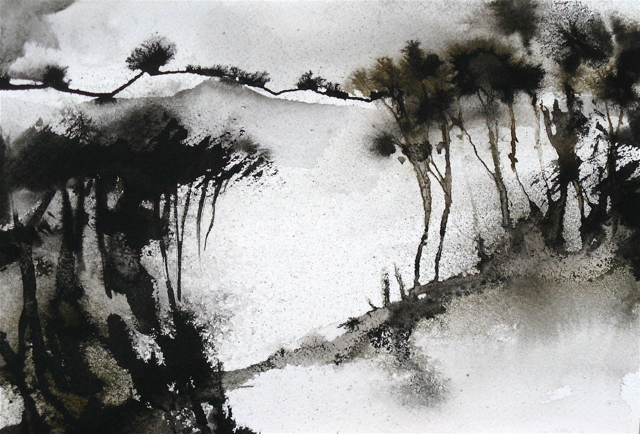 Artwork Gallerie Peinture Chinoise Paysage Chinois Paysages