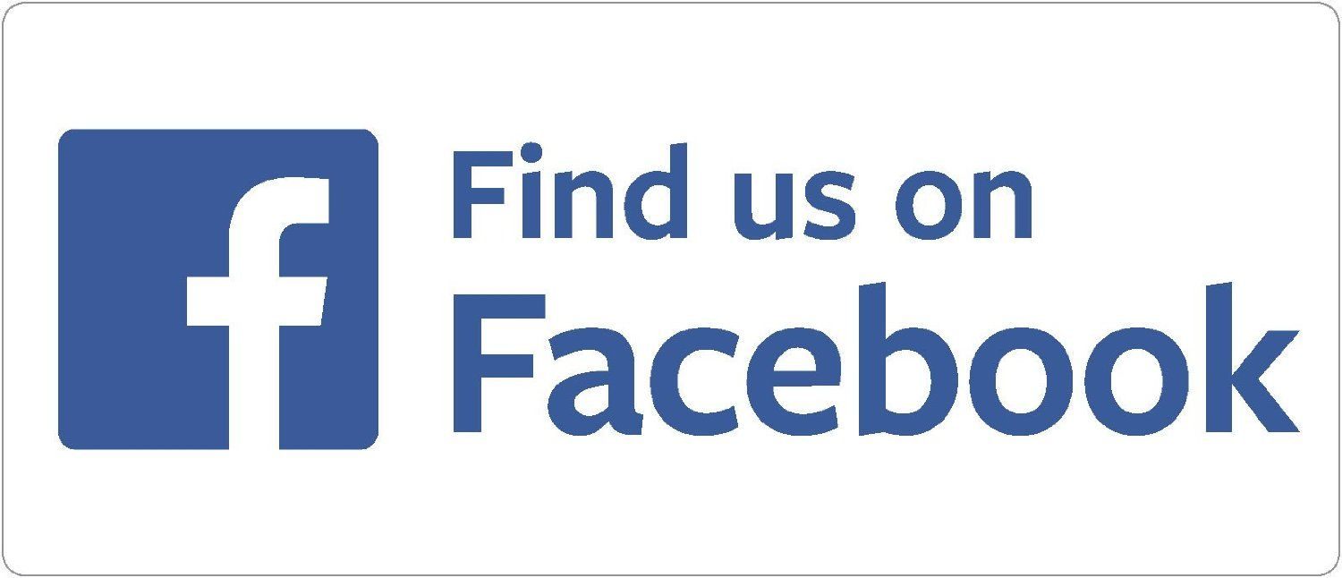 Find Us On Facebook Car Bumper Sticker Vinyl Decal Badge Amazon - Vinyl stickers for marketing