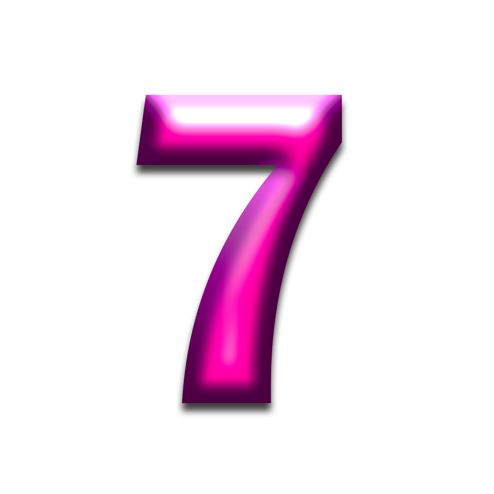 Free Download Digit 7 Png Transparent Background Seven Png Image It Can Be Used In Making White Board Animations Writing Story Icons Png Png Images Image
