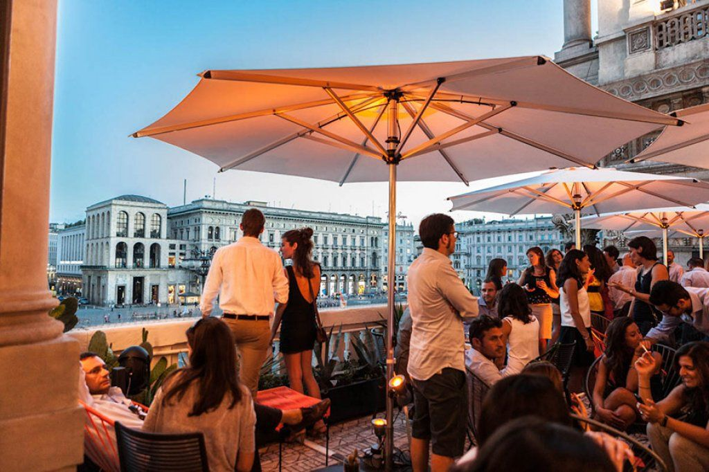 Terrazza Aperol Duomo Milano Rooftop Terrace Places To