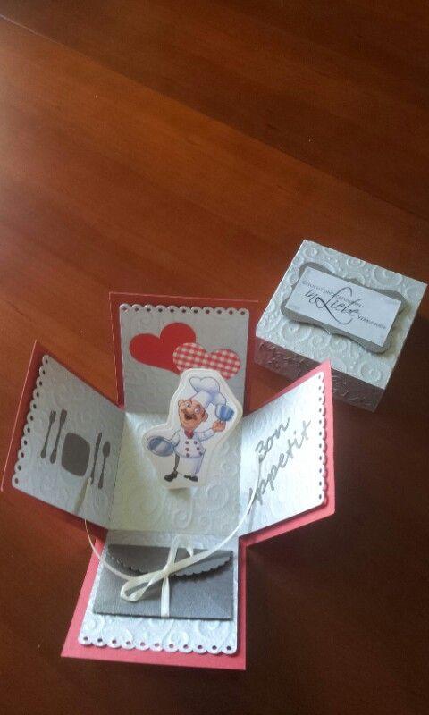 Silberne Hochzeit, Gutschein zum Essen  Geschenke