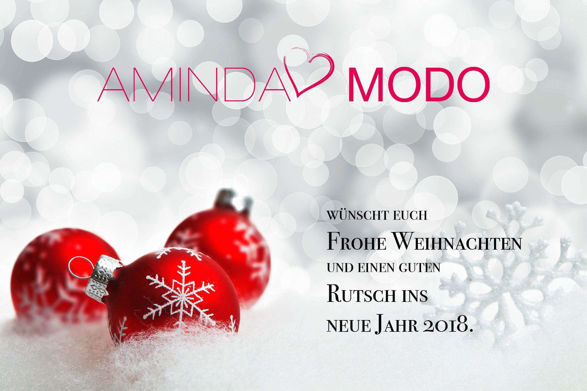 Wir wünschen euch Frohe Weihnachten und einen guten Rutsch ins neue ...