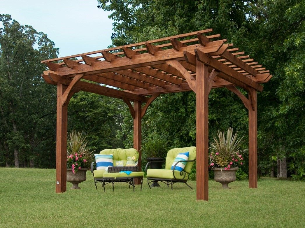 Leisure Time 10 X 10 Pergola 150551 By Leisure Time Products Inc For 729 97 In Patio Lawn Furniture Patio F Outdoor Pergola Backyard Pergola Backyard