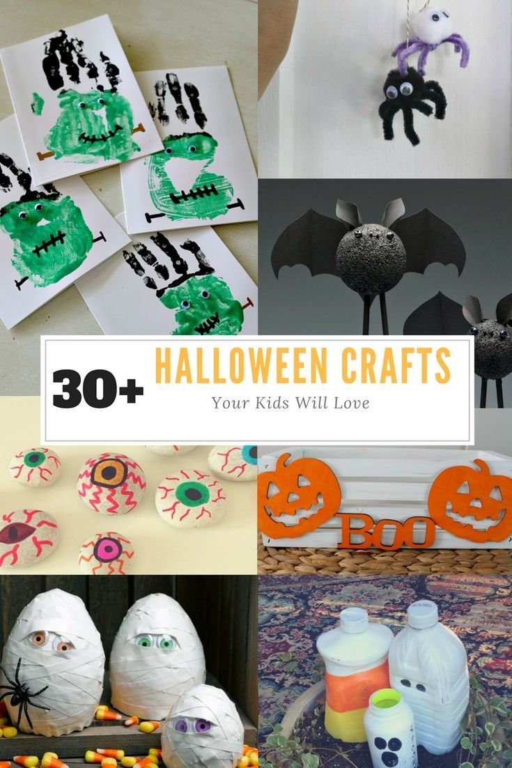 30 halloween crafts your kids will love at the country cook