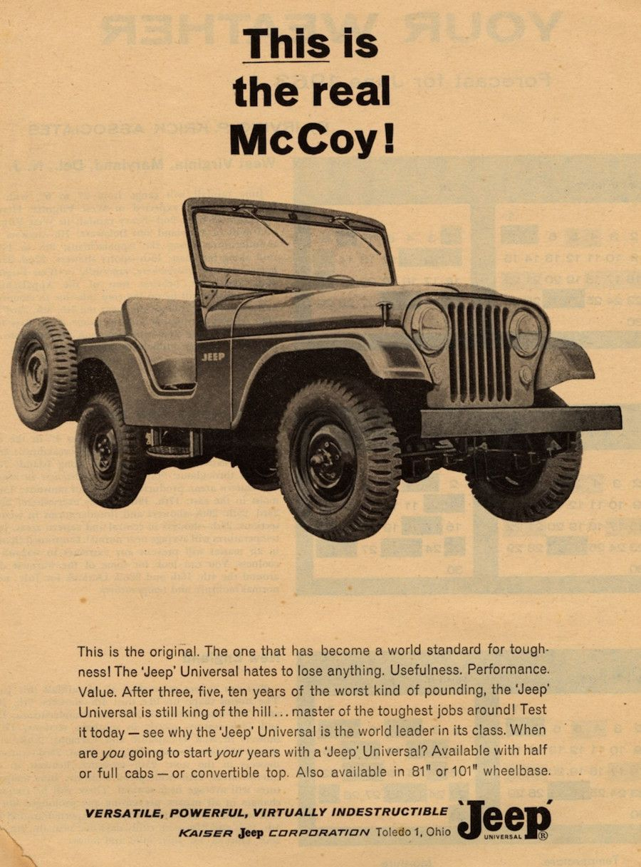 Old Jeep Advertisements
