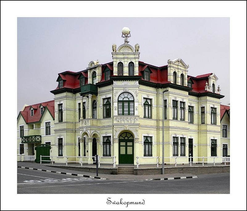 "Swakopmund (German For ""Mouth Of The Swakop"") Is A City On"