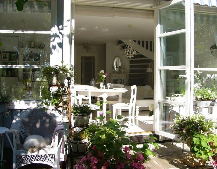 Shabby and Charme: Nordic Style – A casa di Sirkka e nel suo giardino...