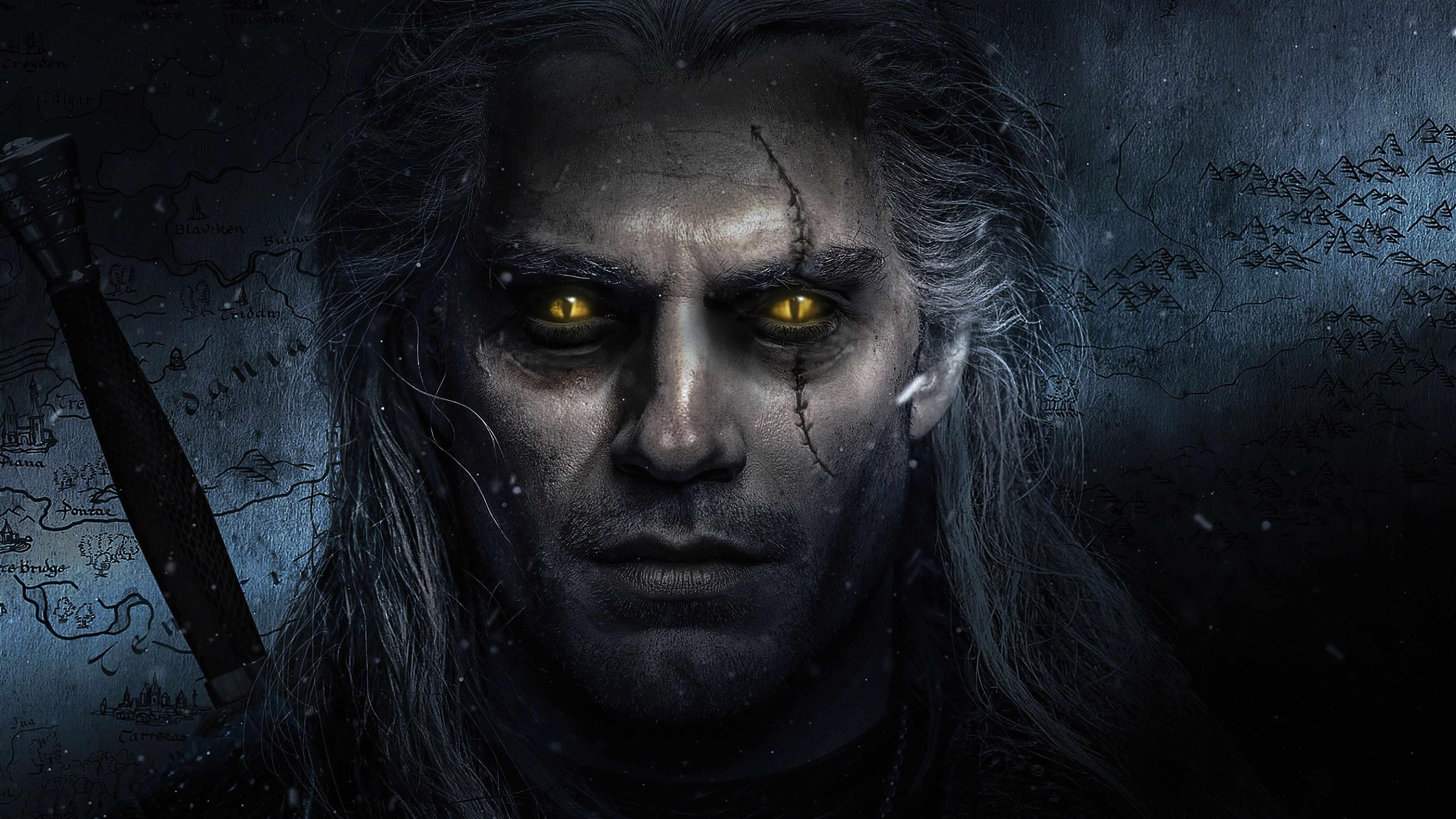 The Witcher Henry Cavill Art The Witcher Wallpaper Hd 4k The Witcher Henry Wallpaper 4k The Witcher 4k Wallpa In 2020 The Witcher The Witcher Geralt The Witcher Game