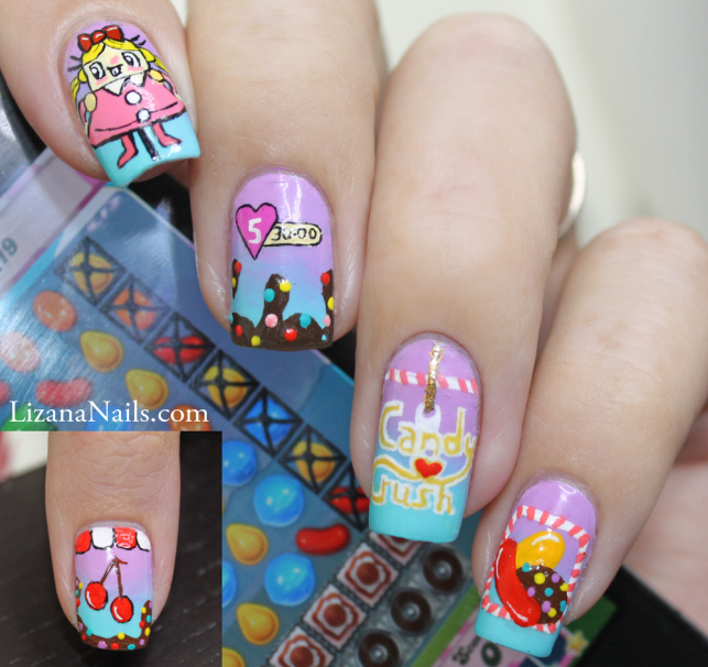 A Nail art i made for a Nail Storming battle around the theme \
