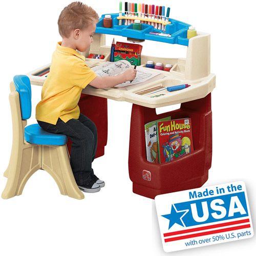 Merveilleux Purchase The Step2 Art Master Desk U0026 Stool For Less At Walmart.com. Save  Money. Live Better.