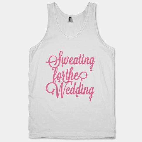 Sweating for the Wedding (Pink) | HUMAN