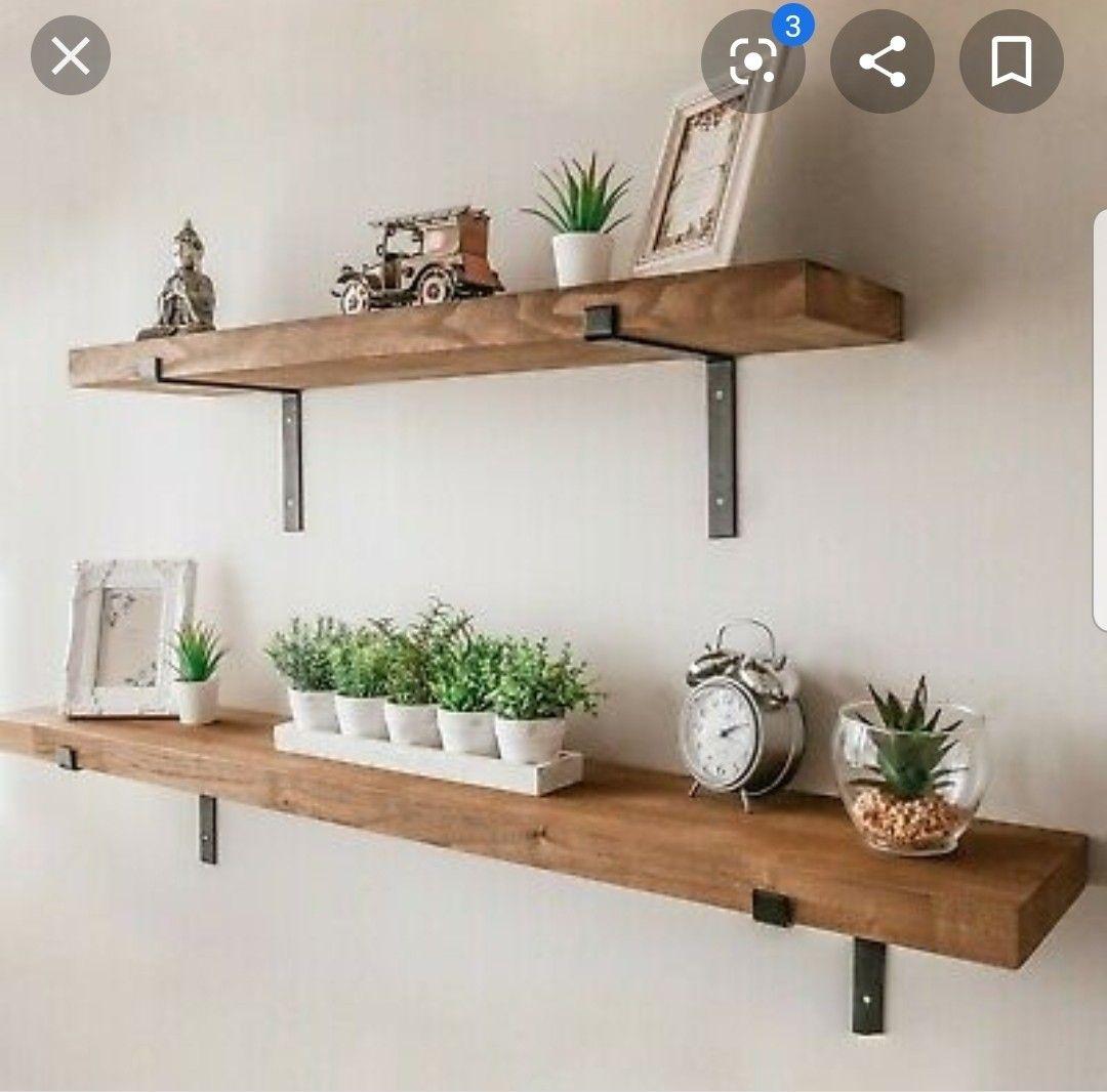 DIY Regal aus alten Holzdielen altes Holz bearbeiten