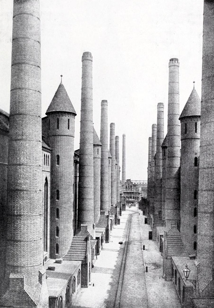 archimaps: The Gasworks of Tegel, Berlin - & Gatherer in ...