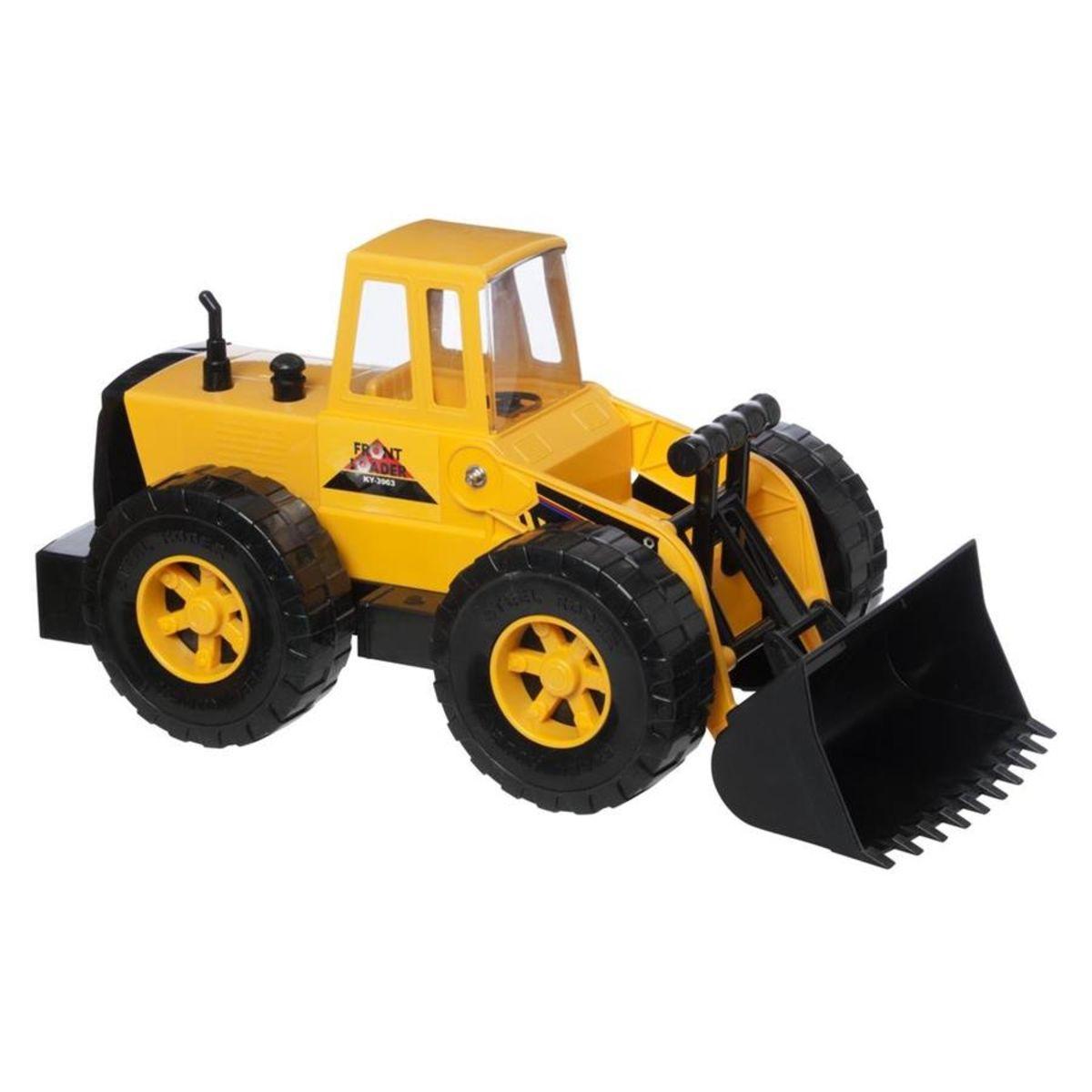 Metal Front Loader Toy cars for kids, Toy trucks, Metal