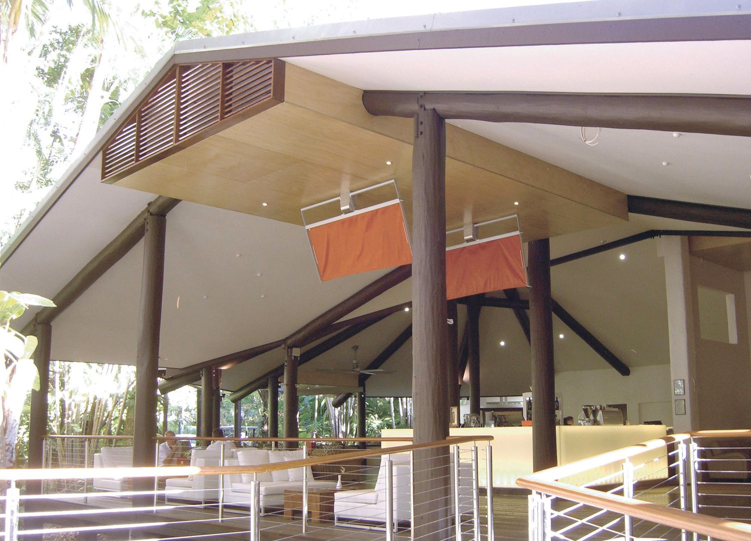The Solitaire Punkah Swinging Ceiling Fans At Kewarra