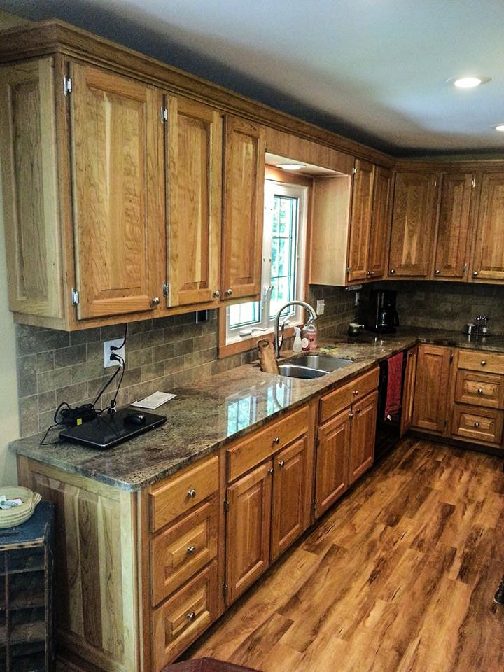 #kitchen #renovations #counter #wood #cabinetry #homeimprovement #house