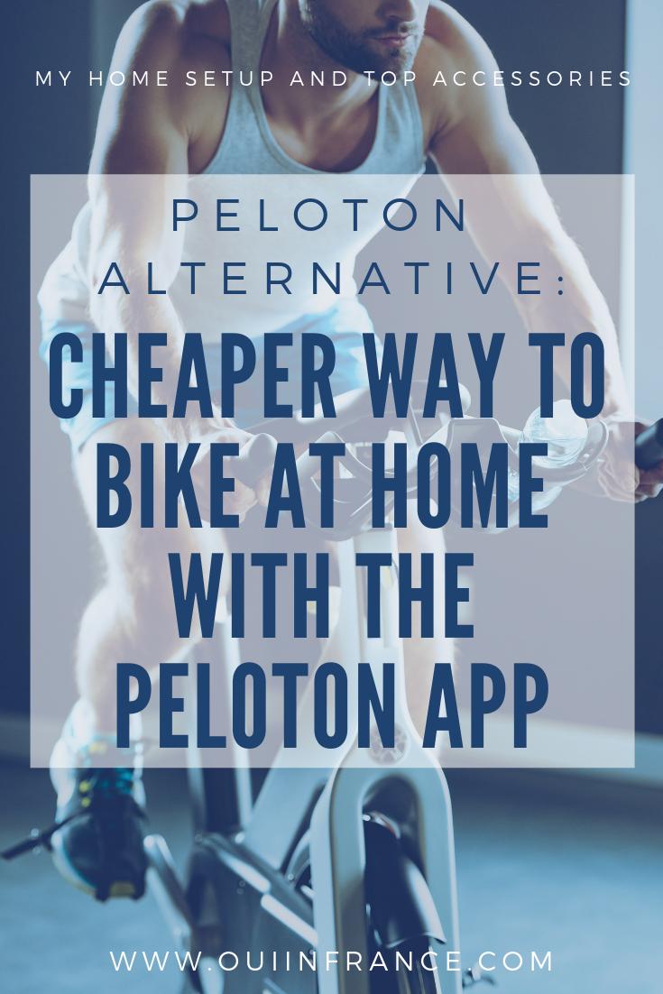 Peloton Alternative A Cheaper Way To Bike At Home With The Peloton App Biking Workout Spin Bike Workouts Stationary Bike Workout