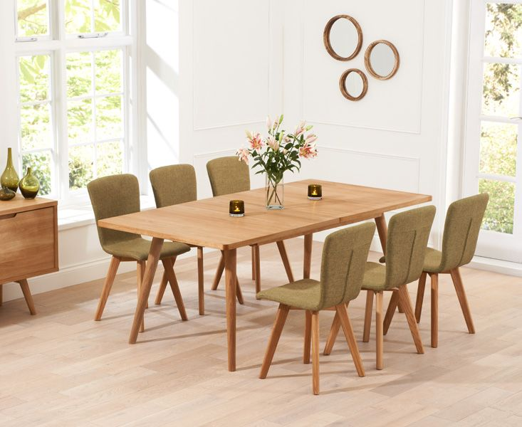 Buy The Tivoli 150Cm Retro Oak Extending Dining Table And Chairs Fascinating Retro Dining Room Tables Inspiration Design