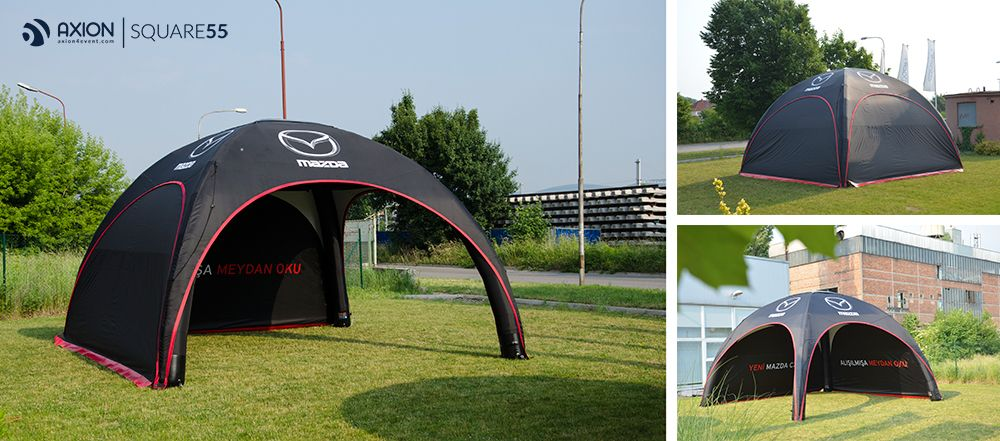 AXION Inflatable tents and furniture for events and promotion