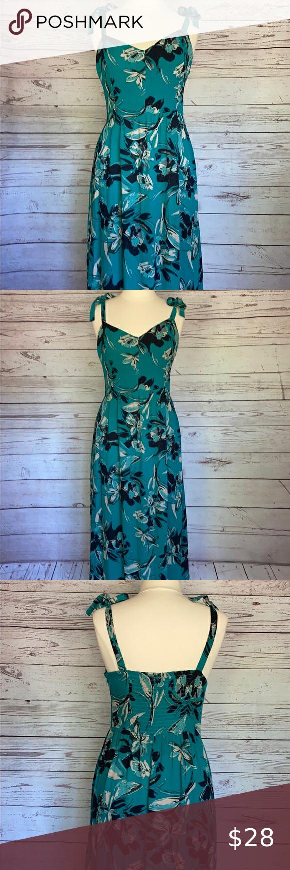 Nwt Tahari Teal Floral Print Maxi Dress Printed Maxi Dress Floral Print Maxi Dress Floral Print Maxi [ 1740 x 580 Pixel ]
