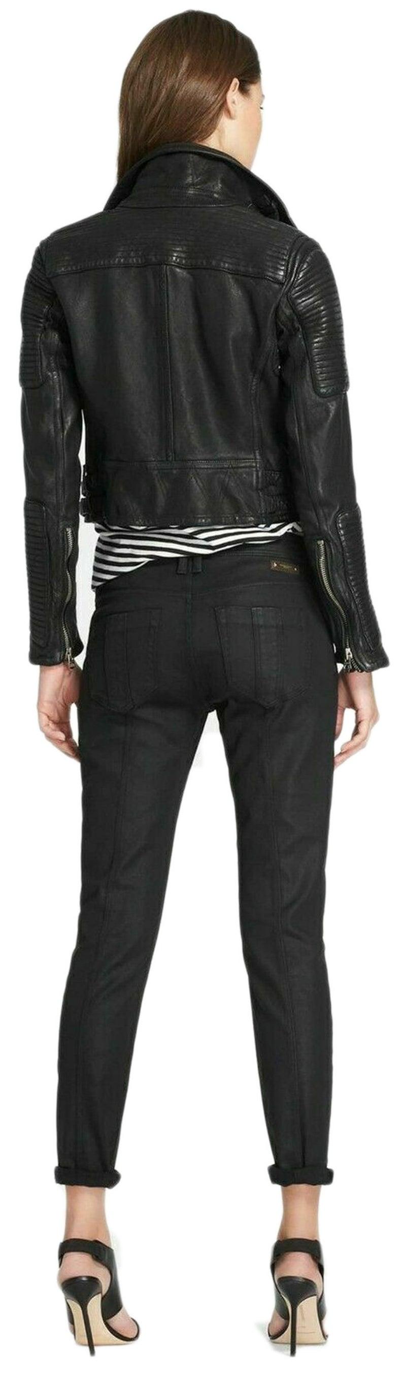 Women S Genuine Lambskin Leather Jacket Handmade Jacket Black Leather Jacket Motorcycle Slim Fit Racer Jacket Custom Made In 2021 Lambskin Leather Jacket Womens Quilted Jacket Leather Jackets Women [ 2711 x 794 Pixel ]