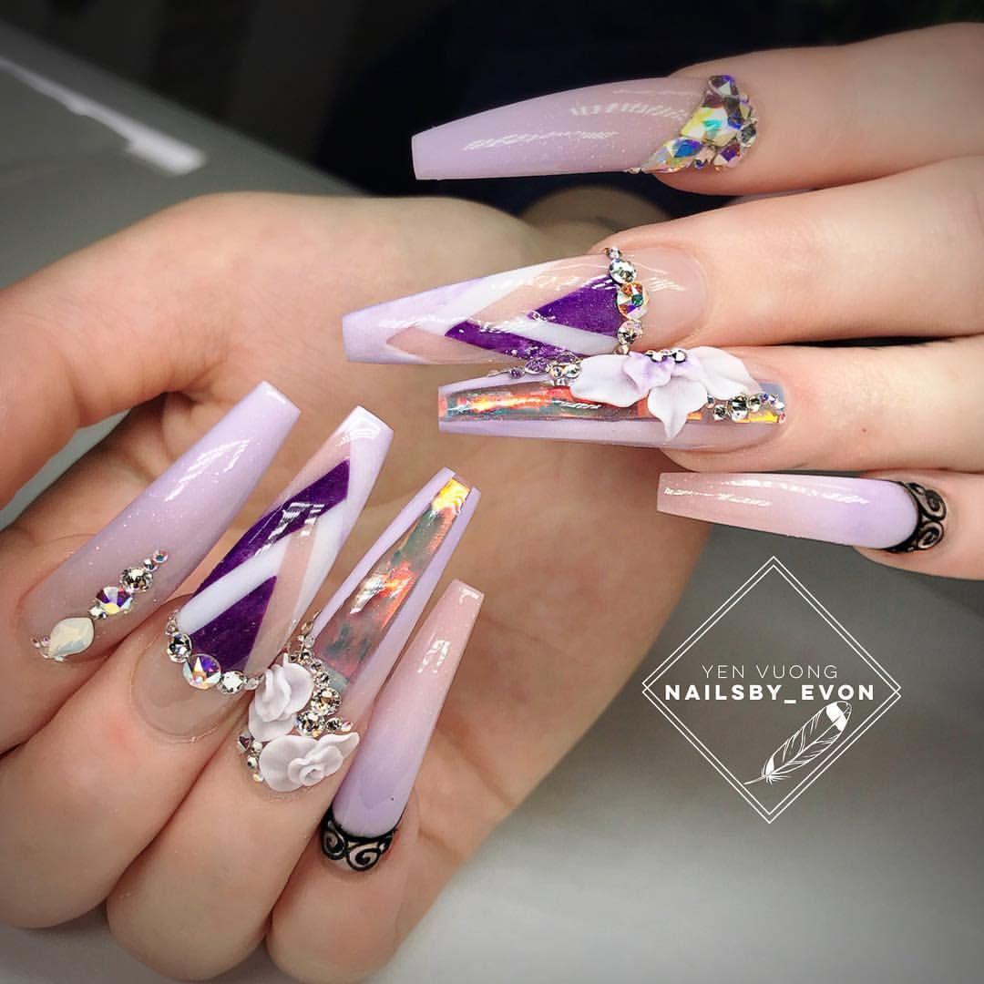 Pin de Worlds Of Miniature en Nail Art | Pinterest | Diseños de uñas ...