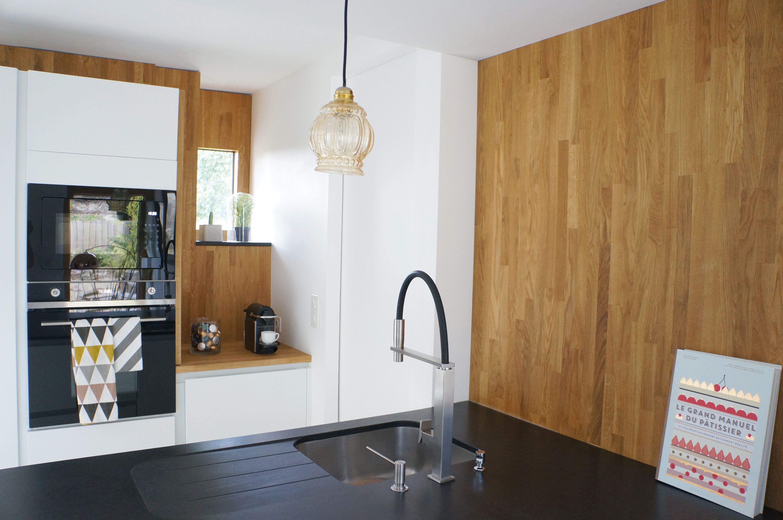 Plan De Travail Granit Beige cuisine kvik avec plan de travail en granit noir conçu par l