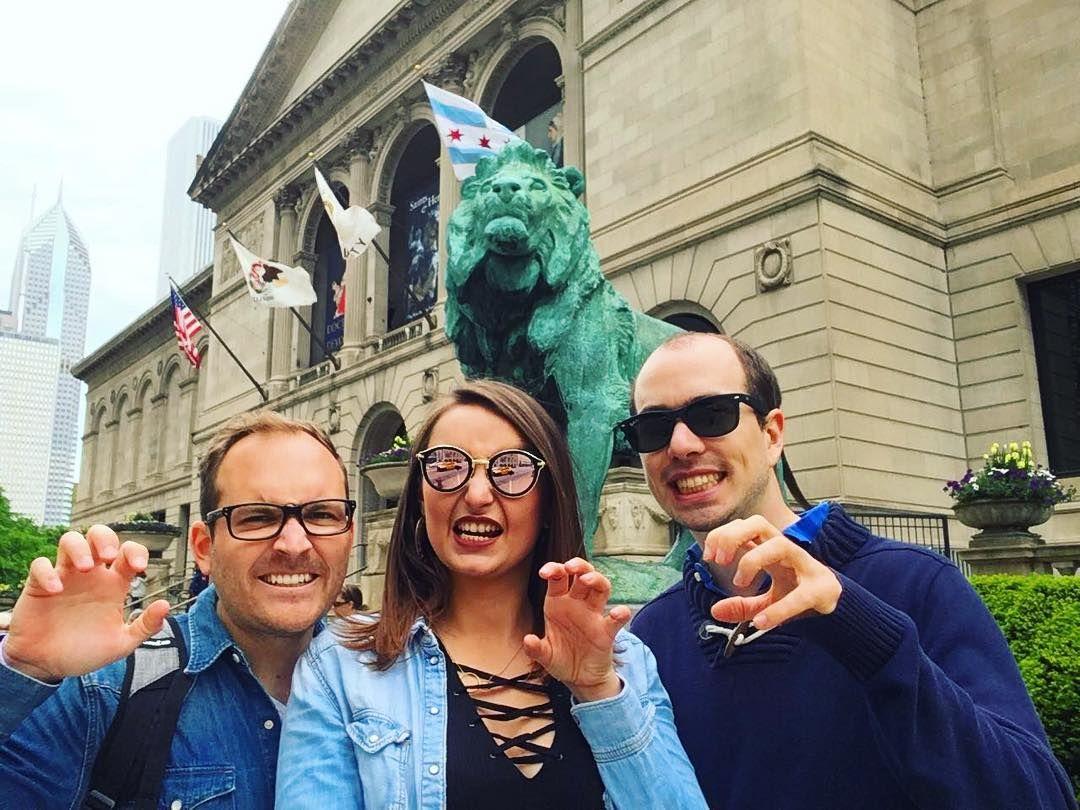 selfion à chicagole!    . . . . . #selfion #chicagole #chicago