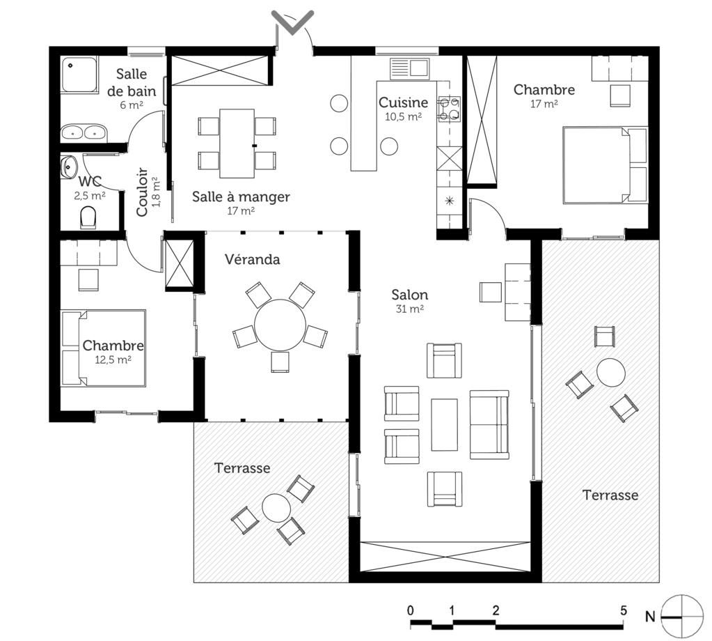 8 Plan Maison Kit How To Plan Design Floor Plans