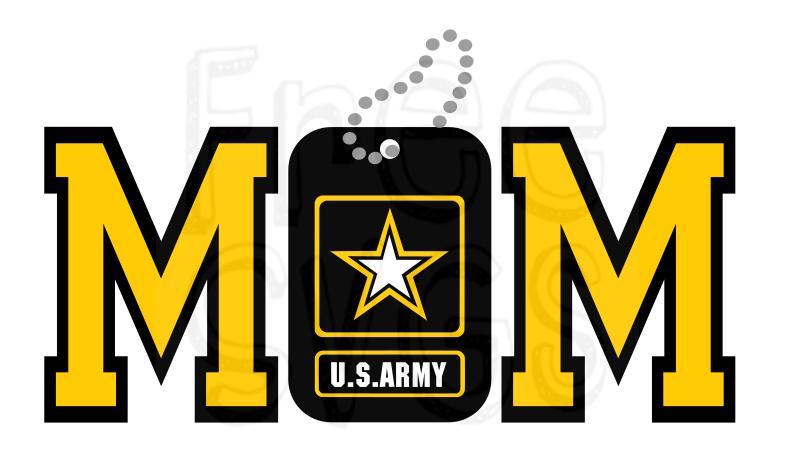 FREE Army Mom SVG File Cricut Army mom quotes, Army mom