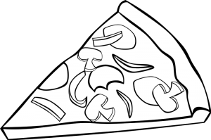 Food And Meals Coloring Pages Preschool Activities Pizza Coloring Page Food Coloring Pages Coloring Pages