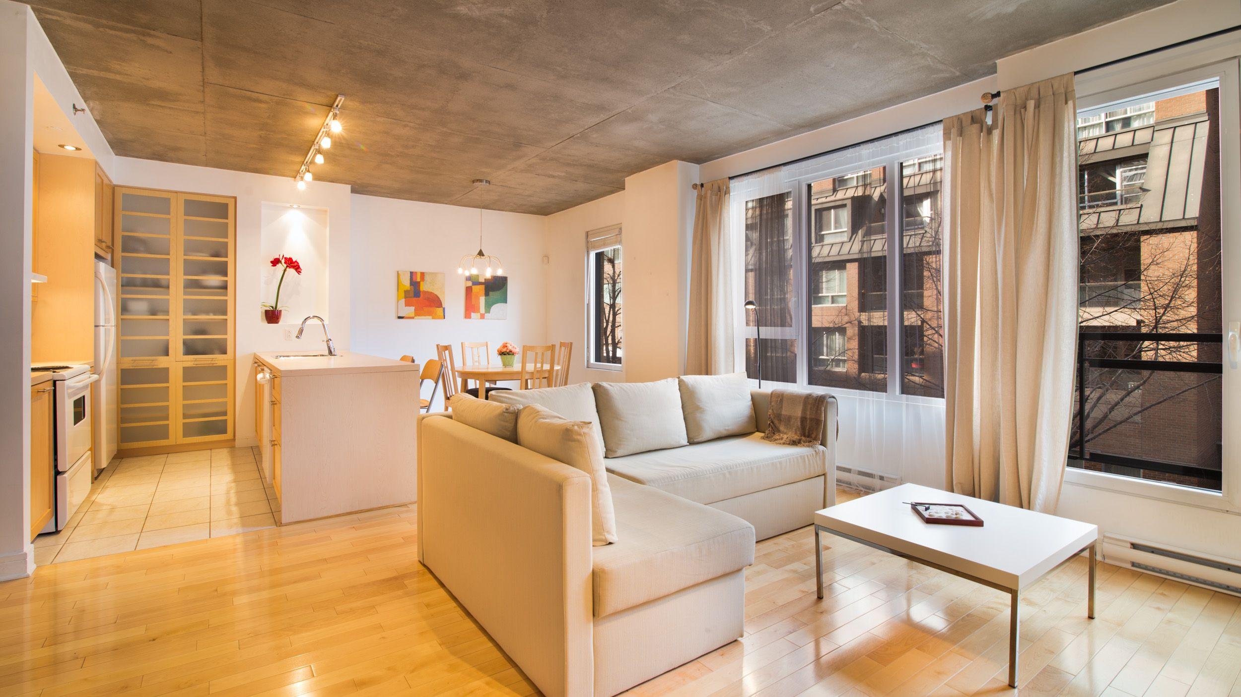 Agence De Location De Proprietes Meubles A Montreal Quebec Acces International Offre Des Appartements Et Maisons Meu Interior Design Furnished Apartment Home