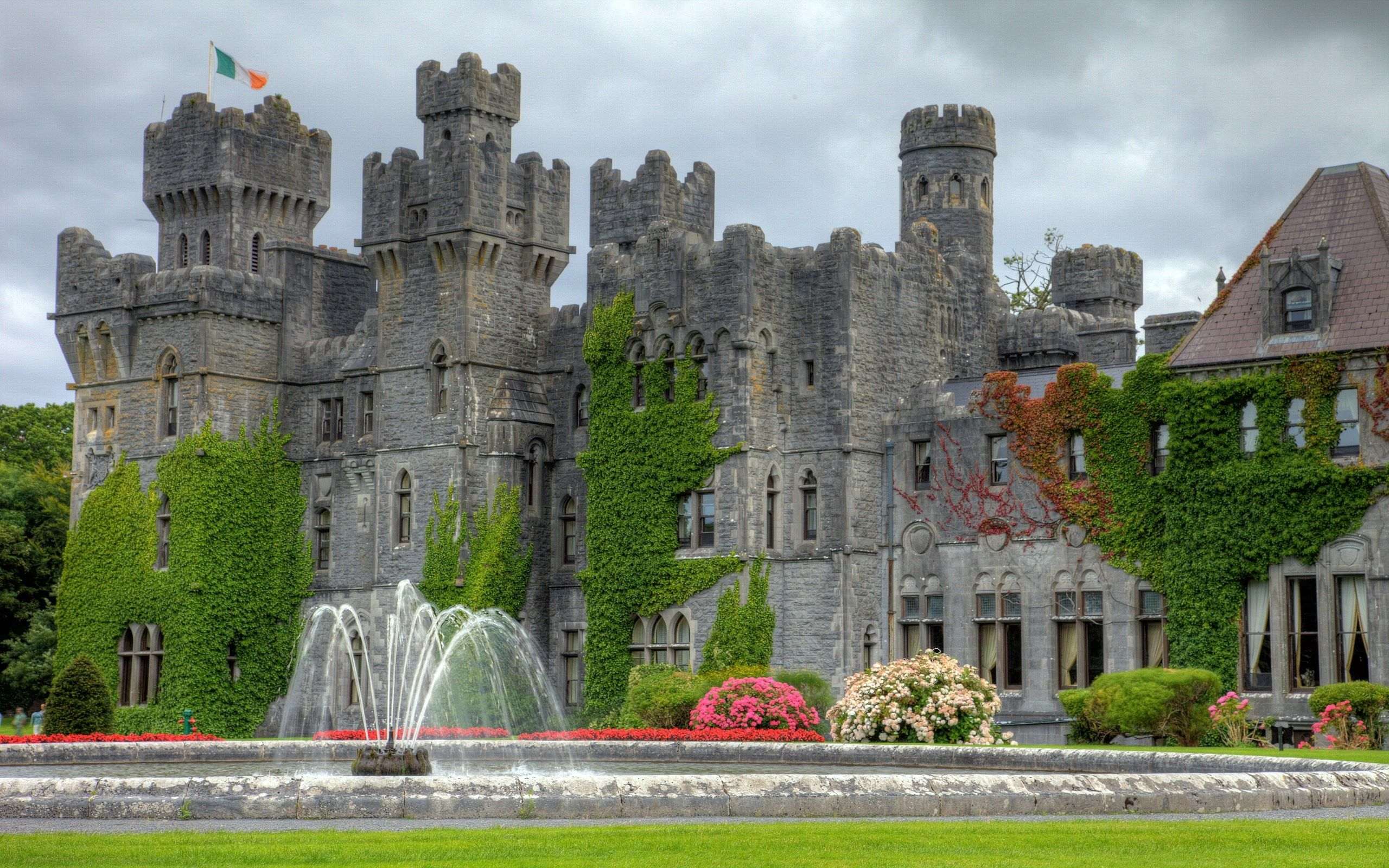 Ashford Castle High Definition Background