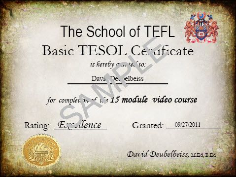 TEFL Course : Free TEFL Certification Online | Udemy | FYI ...