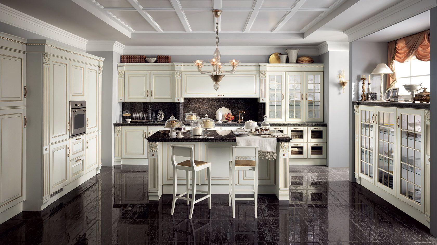 Cucina in rovere Baltimora | Sito ufficiale Scavolini | ev ...