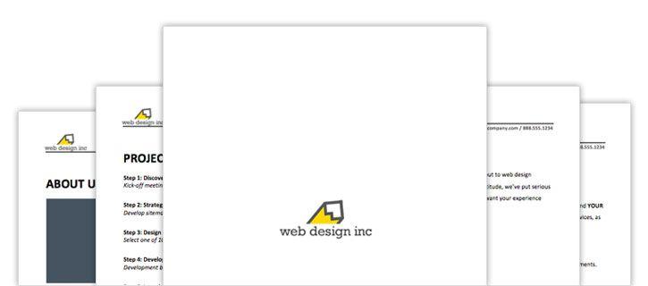 Free Web Design Contract template PDF Web Design Pinterest - audit templates free