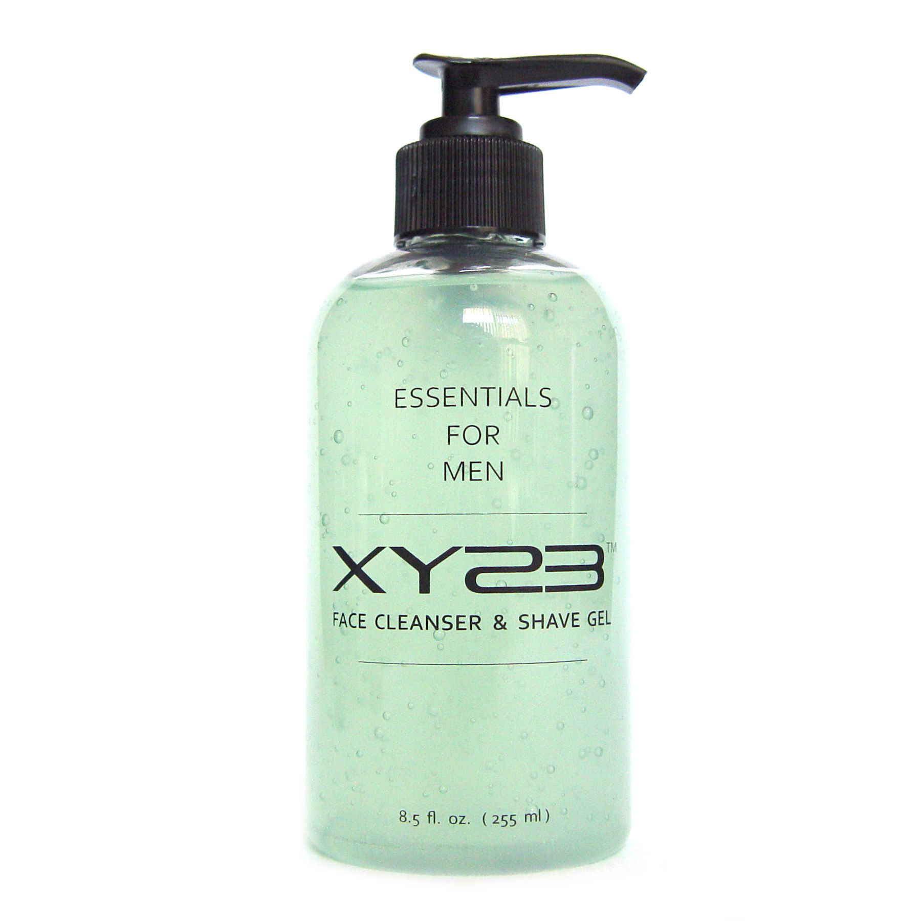XY23 Face Cleanser & Shave Gel  • Clean and shave in one step  • Low-foam, clear gel allows precise shaving  • Lifts beard hair for a close, irritation-free shave  • Works against breakouts  • Keeps skin hydrated  • 8.5 fluid ounces  http://www.xy23formen.com/store/p1/Face_Cleanser_%26_Shave_Gel.html