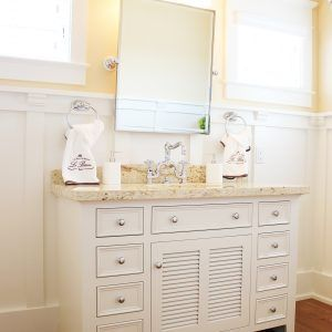 Beach House Style Bathroom Vanities